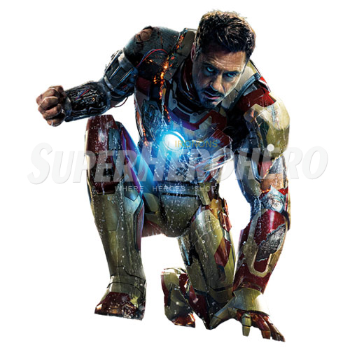 Designs Iron Man Iron on Transfers (Wall & Car Stickers) No.4579
